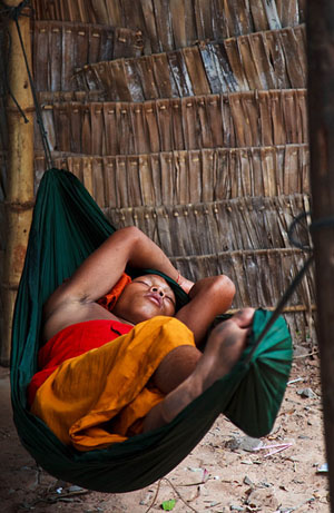 The Sleeping Monk